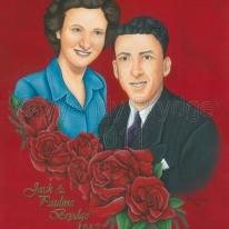 Jack & Pauline Brydge, 1947