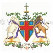Christian Heraldic Crest