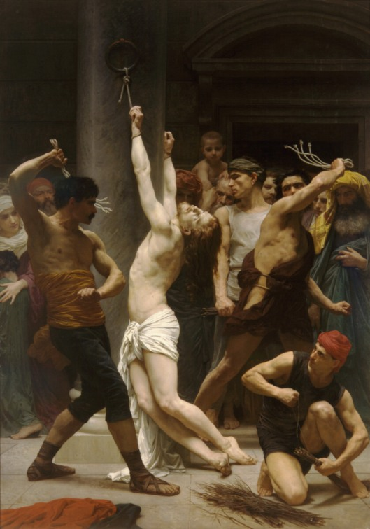 William Adolphe Bouguereau The Flagellation of Christ 1880