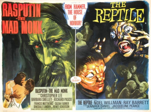 Double Feature Rasputin and The Reptile