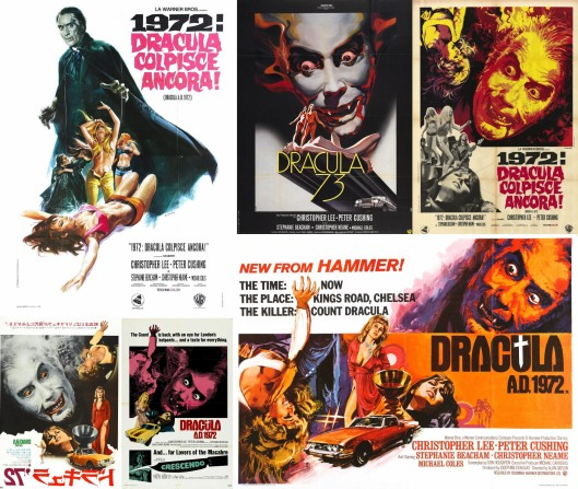 Dracula AD 1972 Posters