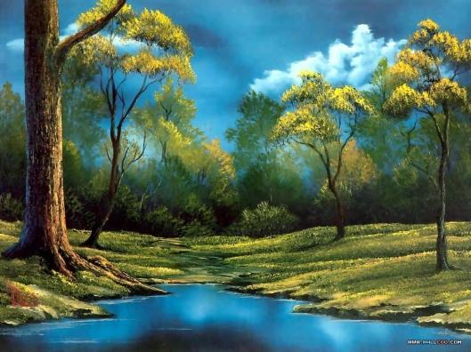 Bob Ross Painting 6